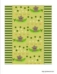 free printable baby shower candy wrappers with pea pod