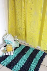 chunky woven bath mat diy u2013 a beautiful mess