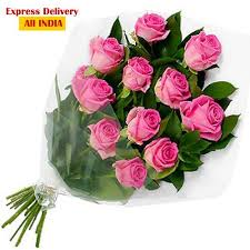 birthday gift buy special birthday gift for pink roses bunch online best