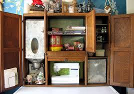 antique kitchen cabinet with flour bin hoosier hutch destashio
