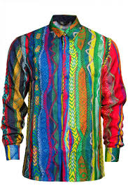 coogi silk button up shirt pure atlanta u2013 pureatlanta com