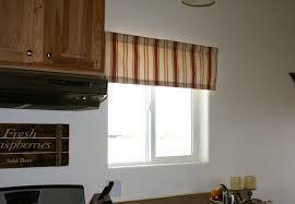 Kitchen Window Valance Ideas by Kitchen Window Valances Ideas For A Border U2013 Home Design And Decor