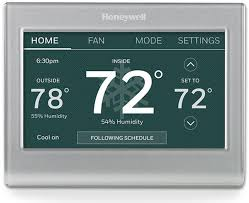 wi fi smart color thermostat rth9585wf honeywell