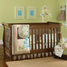 Frog Crib Bedding At The Pond Bedding By Just Born Baby Crib Bedding 21751r