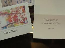 creative christmas countdown day 4 thank you cards teach