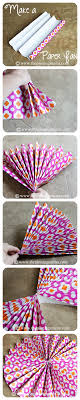 paper fan backdrop diy party decor ideas part 2 the pinning