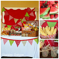 Bbq Party Decorations 6 Best Images Of Bbq Birthday Party Ideas Family Bbq Party Ideas