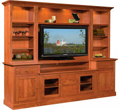 Tv Wall Panel Furniture Clark Cabin Creek Wall Unit Nisley Cabinet Hubbingtons