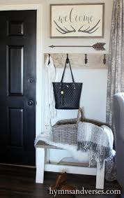 apartment entryway ideas entryway antlers welcome sign hymns and verses country