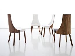 modern wooden chairs for dining table excellent the marengo leather contemporary dining chair in black