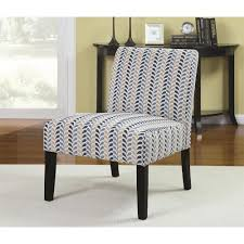 Armless Chairs Accent Seating Armless Accent Chair With Contemporary Furniture Style
