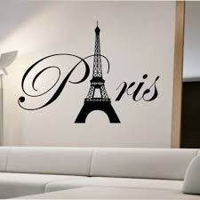 Wall Decal Beautiful Paris Themed Wall Decals Paris Wall Stickers