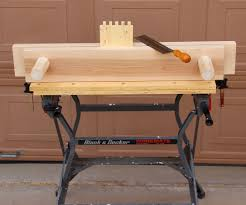 Building Woodworking Bench Make A Bench Vise For Woodworking 6 Steps With Pictures