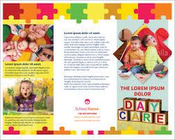 brochure templates for school project 21 kindergarten brochure templates psd vector eps jpg