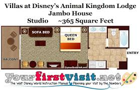 Photography Studio Floor Plans by Photo Tour Of A Studio At Disney U0027s Animal Kingdom Villas Jambo
