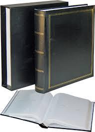 slip in photo albums 7x5 photo albums black covers slip cases