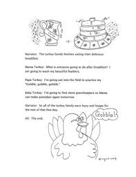talk thanksgiving clipart and a reader s theatre play
