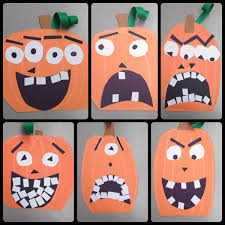 Halloween Pumpkin Crafts Halloween Pumpkin Art Lesson Project Special Education