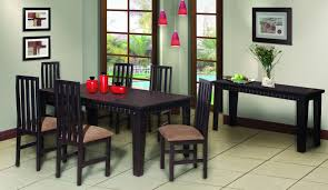 dining room suites glenns furniture the prandelli 9 piece dining