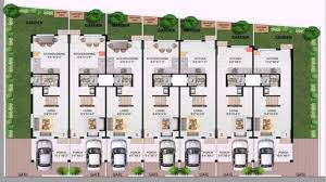 incredible design ideas row house layout plan 10 plans designs