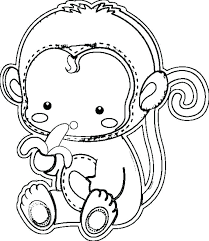 printable coloring pages monkeys free printable baby monkey coloring pages printable coloring sock