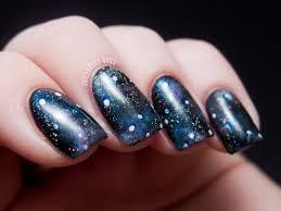 into the glitterverse galaxy nails chalkboard nails nail art blog