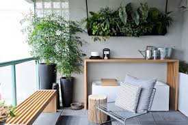 farmhouse hanging planters balcony modern with interior design