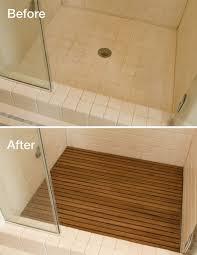 bathroom shower floor ideas best 25 shower floor ideas on master shower pebble