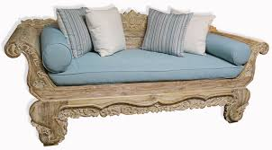 carved daybed carved balinese unique ranges ashanti furniture