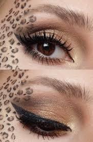 pretty leopard makeup my makeup looks pinterest leopard