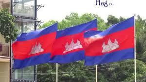 Cambodia Flag Flag Of Cambodia Youtube