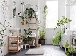 Bathroom Natural Bathroom Artificial Lili Flower Plants On Vase For A Bathroom