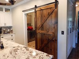 Sliding Barn Door Construction Plans Atlanta Barn Doors We Design Build And Install Custom Interior
