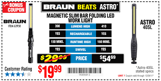 harbor freight light bar harbor freight your holiday bonus coupons are here plus your 25