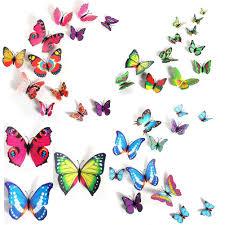 art butterfly wall stickers door decals room decor home pcs art butterfly wall stickers door decals room decor home decorations