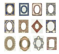 vintage frame cards and labels for free worldlabel