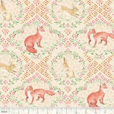 rabbit material fox fabric rabbit fabric bunny animal material