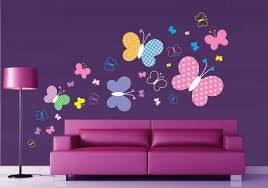 Wall Painting Designs For Living Room Home Design - Designer wall paint