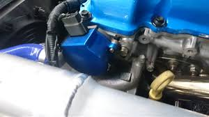 mazda cas p2m nissan sr20det cas cover blue
