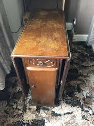 dark wood drop leaf table antique dark wood drop leaf dining table with drawers and cupboards