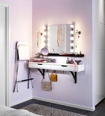 How To Build A Wall Mounted Desk Diy Makeup Vanity Brilliant Setup For Your Room