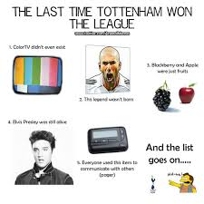 A League Memes - arsenal memes on twitter the last time tottenham won the league