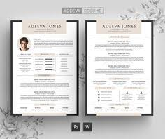 Template Resume Design Clean Resume Cv Silly By Snipescientist On Creativemarket