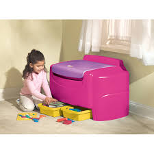 Little Tikes Toy Chest Little Tikes Bright Pink Sort U0027n Store Toy Chest Walmart Com