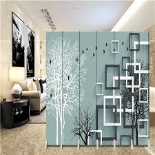wall partition 180 40cm 6pcs hanging screen wall decoration hangings room divider