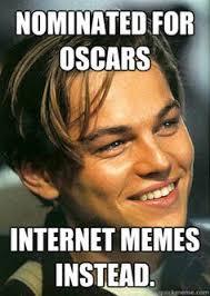 Leonardo Dicaprio No Oscar Meme - leonardo dicaprio no oscar leonardo dicaprio versus the oscars