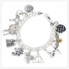 charm bracelet for wizarding charm bracelet for the harry potter fan