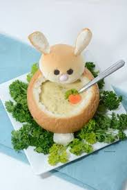 Great Easter Dinner Ideas Easter Bunny Bread Bowl Creative Easter Dinner And Diy And Crafts