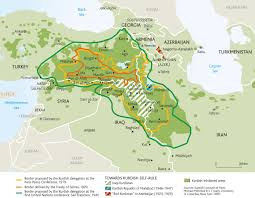 New Middle East Map by News Analysis Fighting Isis Trigger New Hope For Kurdish