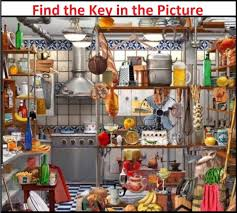 brain booster find the key in the picture tricky brain teaser